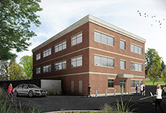 Faulkner and Kindlan of KW Comm'l. handle 13,500 s/f lease for builder/landlord, Bernie and tenant, NEEDS Ctr.