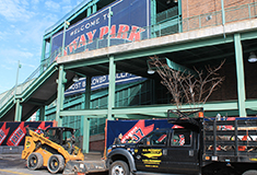 U.S. Pavement performs work at Fenway Park for 7<sup>th</sup> year in a row