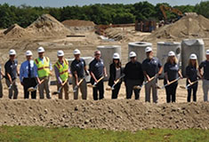 DiPrete Engineering breaks ground on Millstone Medical Outsourcing building