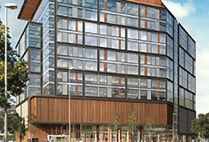 Skanska signs Shell TechWorks to 43,821 s/f at Two Drydock - a 13-story, 230,000 s/f, class A office building in Seaport