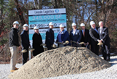 Lincoln Property Co. and Barings break ground on $30 million, 345,000 s/f distribution facility