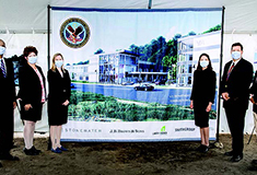 FD Stonewater and J.B. Brown JV break ground on VA CBOC facility