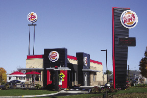 MJ Assoc And CBRE Boulos Lease 2800 S F To New Burger King Prototype