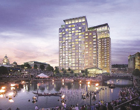 Waterplace Relaunches As Condo Units Auction Scheduled For October 17 Intercontinental Real Estate Corp Hires Accelerated Marketing Partners