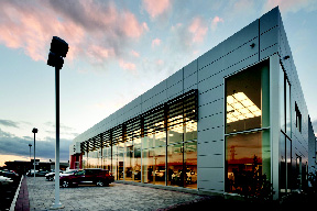 Project Of The Month: New England Construction And BKA Architects Complete  New 33,000 S/f Nissan Village Dealership