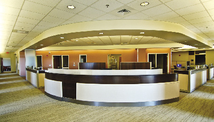G  Greene Construction completes 12,000 s/f primary care department
