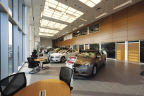 Superior New England Construction And BKA Architects Complete 33,000 S/f Nissan  Village Dealership