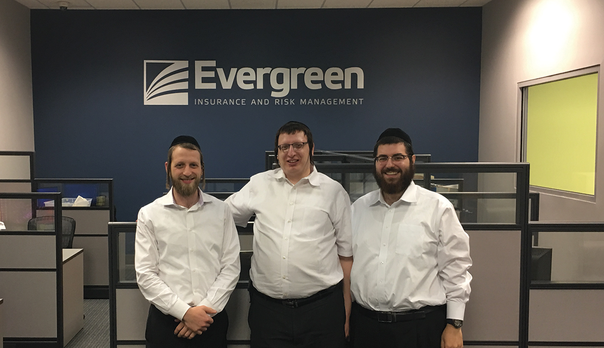 Shown (from left) are: Izzy Green, CEO; Alan Pollak, COO; and Sol Eisenberg, partner and co-founder