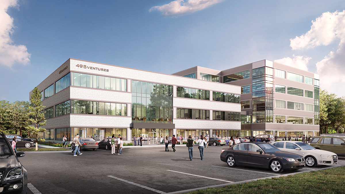 Ryan Development to complete 114,340 s/f Apex Offices; Leasing by JLL's DeSimone, Bailey, Mahoney and Sherman