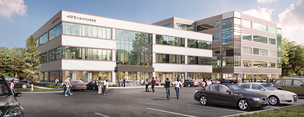 Ryan Development LLC to open 114,340 s/f Apex Center of New England this fall - JLL is leasing agent for office/medical office component