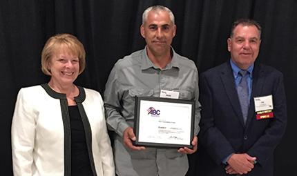 Bowdoin Const. earns ABC's Diamond Level STEP Award