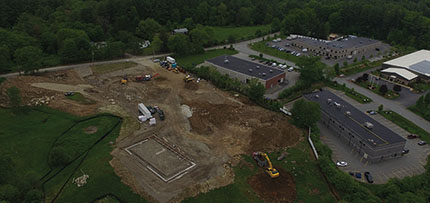North Branch Construction begins 40,000 s/f Freedom Alley Shooting Sports Firing Range and Training Facility