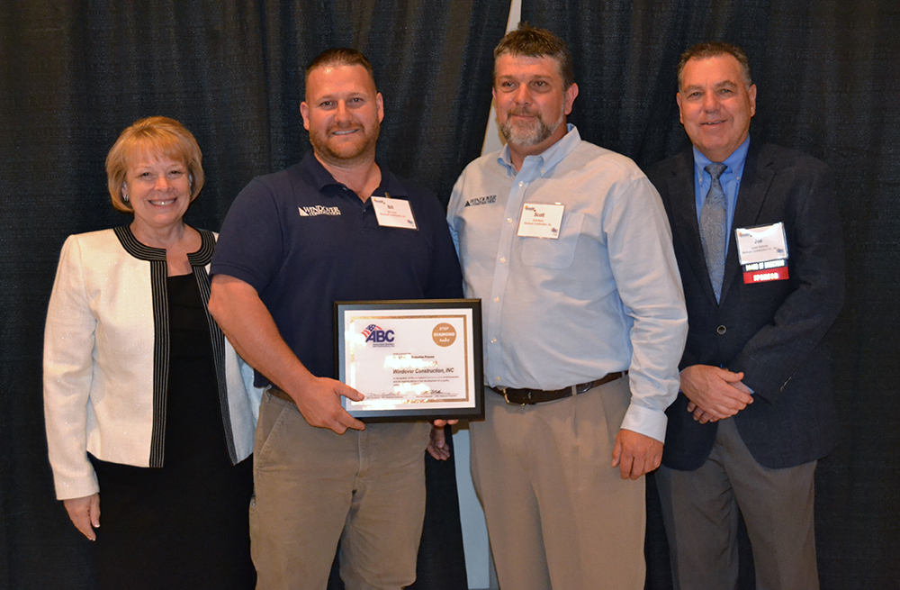 Windover Construction named Diamond S.T.E.P. Safety Award winner by ABC & Gould Institute