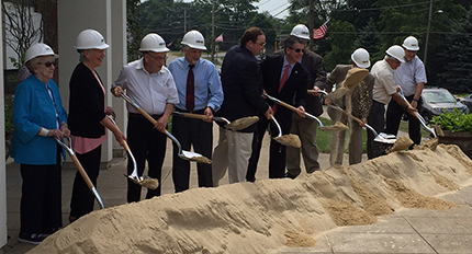 Finegold Alexander breaks ground on Stoughton Public Library project