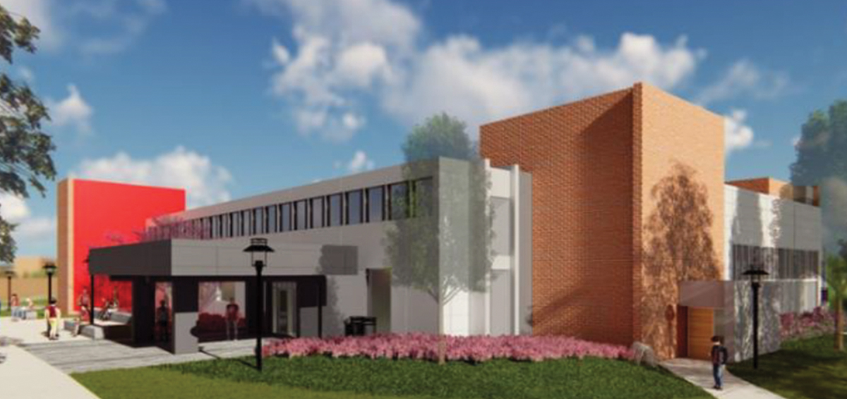 The S/L/A/M Collaborative (SLAM) continues construction on $5 million GengrasStudentUnion (GSU) at University of Hartford