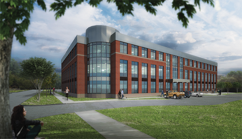 Development Associates begins 3rd Northampton office building at 15 Atwood Dr. - a 66,000 s/f 3-story facility