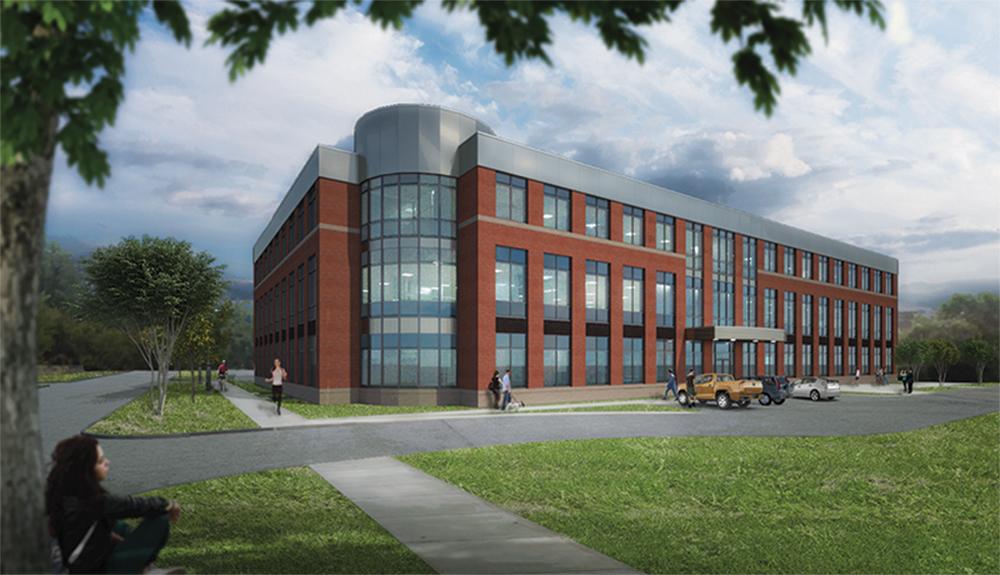 3 Story Building | Development Associates Begins 3rd Northampton Office Building At 15