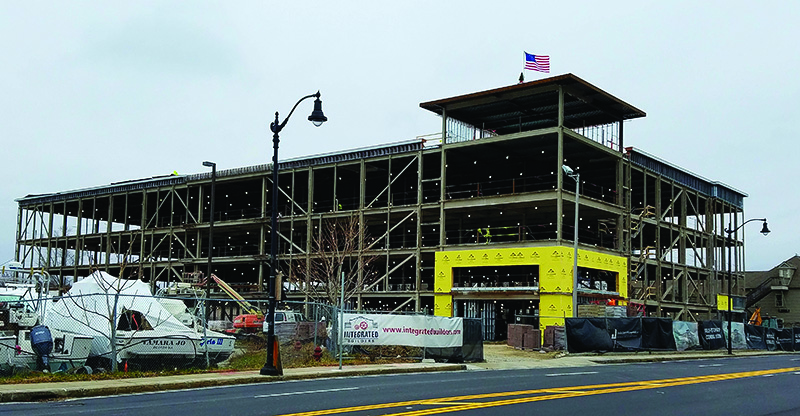Integrated Builders Tops Off 125 000 S F Quincy Self