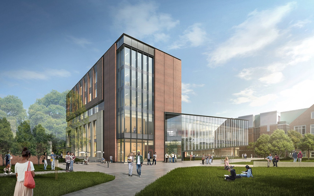 Coghlin Electrical continues ground-up core/shell work for WPI
