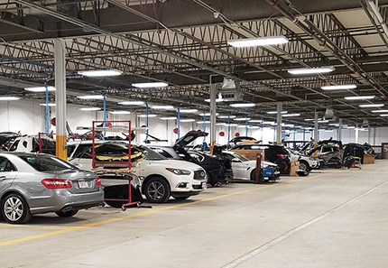 Integrated Builders completes Chambers Collision Center