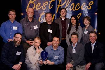 Stantec earns #1 large employer in the 12th annual ranking of Best Places to Work