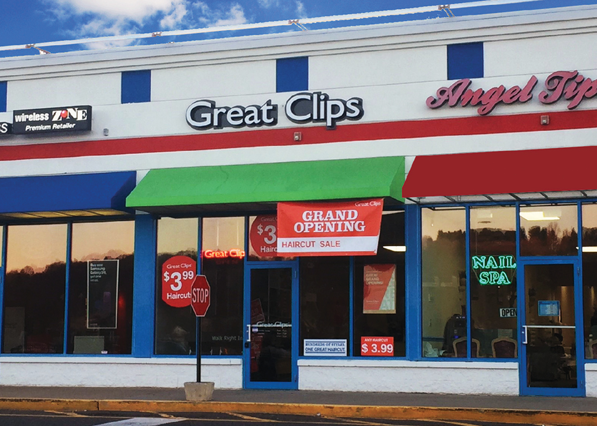 Royal Properties Brokers 1652 Sf Lease To Great Clips Nerej