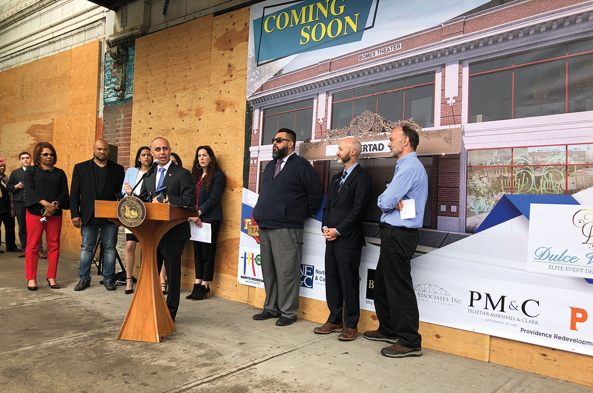 City of Providence to complete renovation of Bomes Theatre