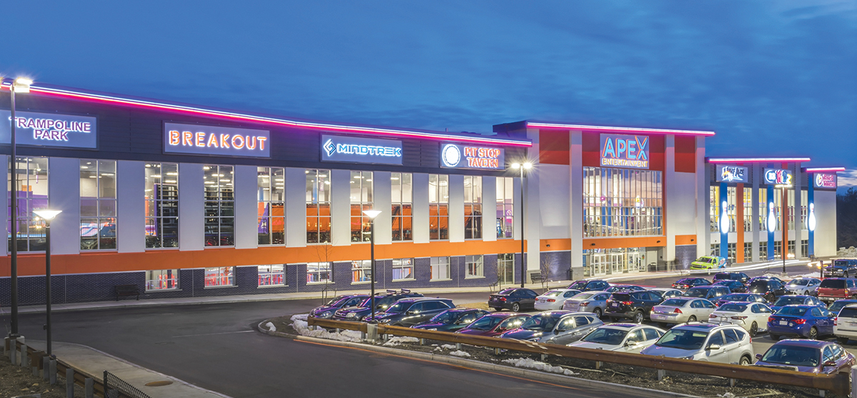 Marlborough Ma Raventures Has Completed Development Of The New 485 000 S F Apex Center England On Rte 20 West