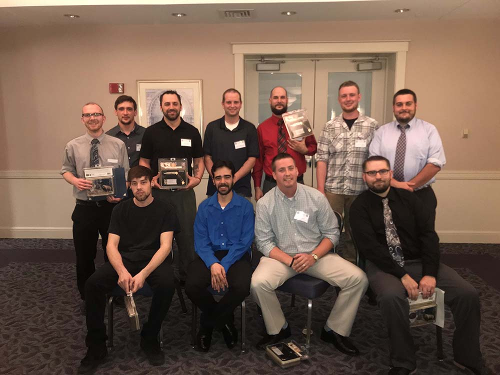 Electricians graduate from IBEW Local 96 and Worcester Joint Apprenticeship Training Program