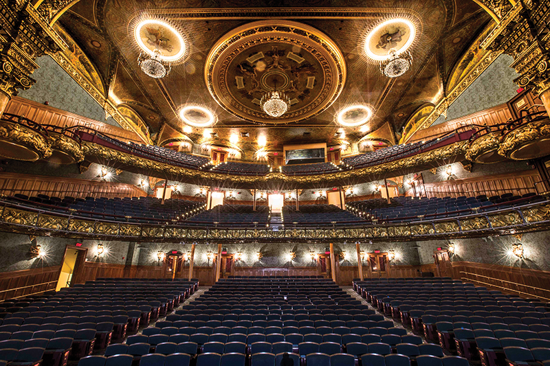 J&M Brown provides services for Emerson Colonial Theatre project