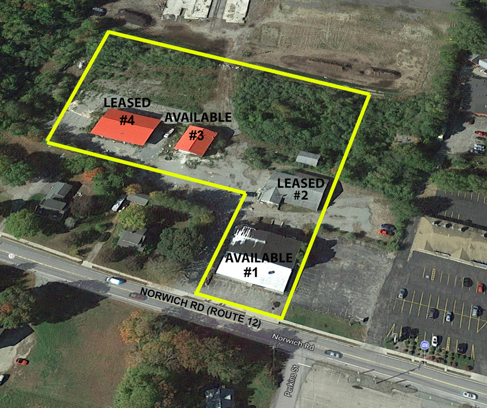 Lyman of Lyman Real Estate leases a 5,520 s/f building to two tenants