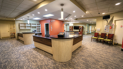 Green Leaf Construction renovates 150-bed skilled nursing Christopher House