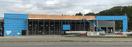 Integrated Builders tops-off 40,000 s/f Prime Ford-Auburn dealership