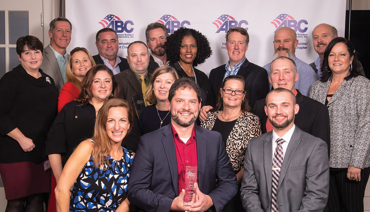 PROCON wins 2018 ABC Industry Awards for excellence, ingenuity and workforce development