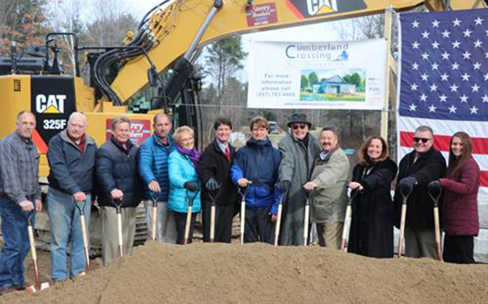 Cumberland Crossing by Oceanview begins construction of 50 two-bedroom cottages in Cumberland, ME