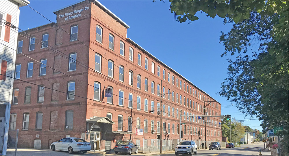 Thibeault purchases the Henry Hanger Co. building for $1.81 million
