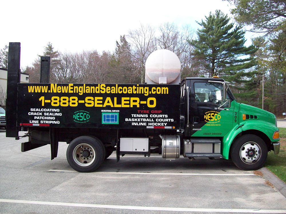 New England Sealcoating provides efficient and cost effective services