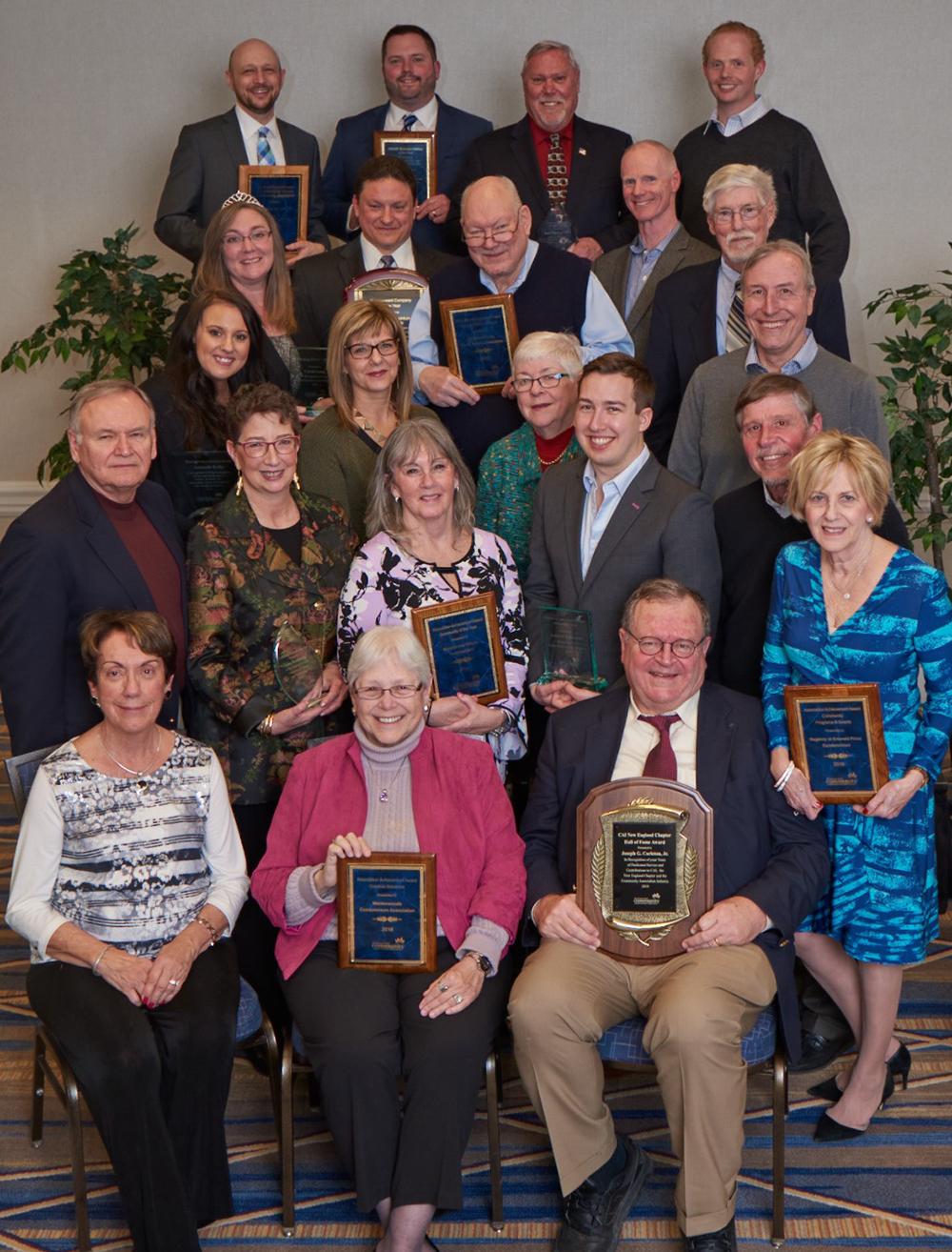 Award winners shine at Community Associations Institute New