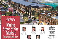 NEREJ to host Maine State of the Market Summit featuring Rock Row on September 25<sup>th</sup>