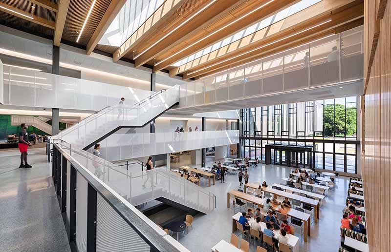 ShawmutDesign and Construction completes $176 million Billerica Memorial High School