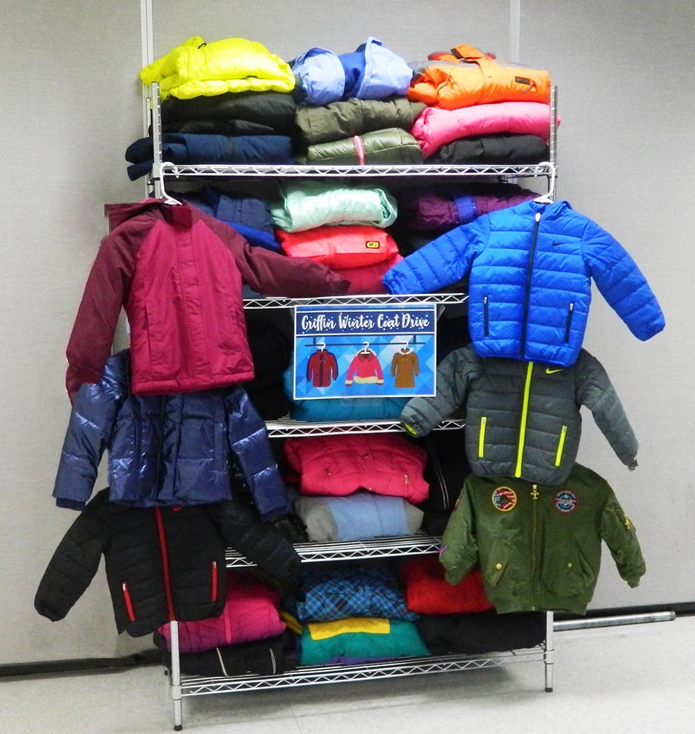 Thru the Lens: Wayne J. Griffin Electric collects new and gently used winter coats for those in need