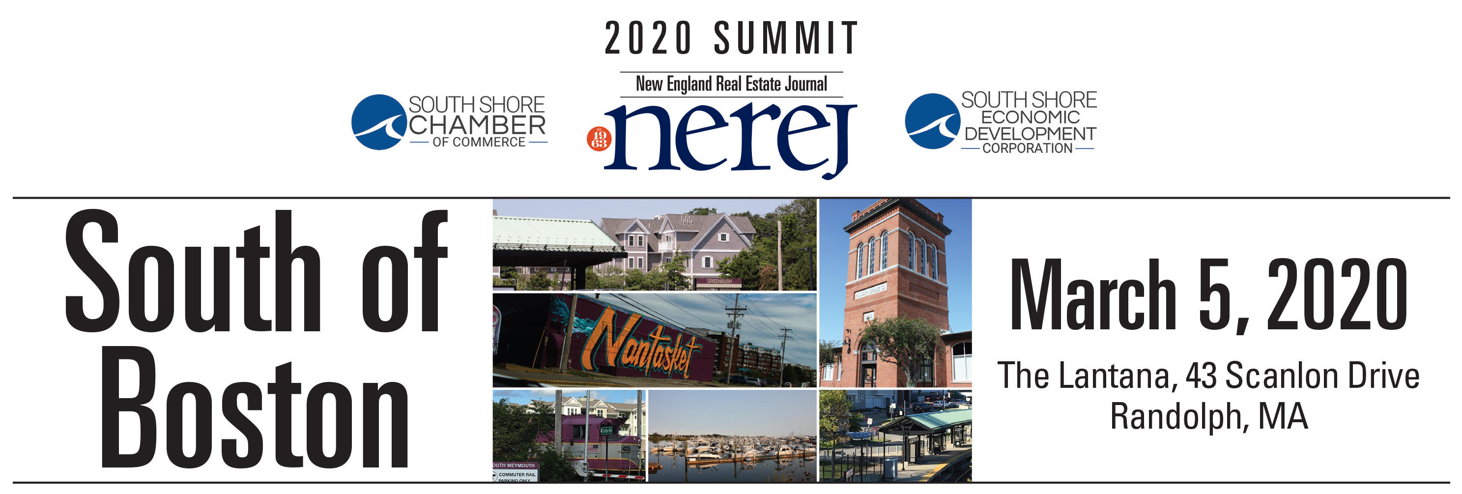 South Shore Chamber of Commerce and NEREJ to host 2020 South of Boston Summit - March 5