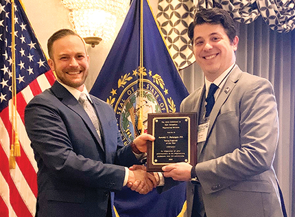 Belanger of TFMoran awarded N.H. Young Engineer of the Year