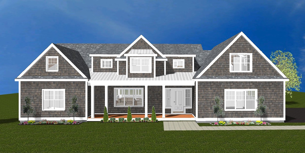 The McSweeney Cos. is developing six new homes on a five-acre parcel