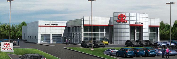 Kingston Car Dealerships >> Polar Design Build awarded 39,667 s/f Sullivan Toyota dealership : NEREJ