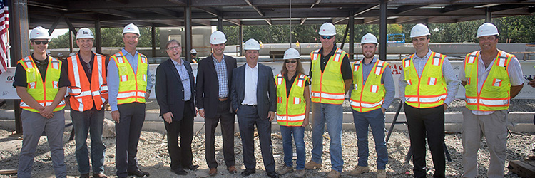 BW Kennedy celebrates topping off of KSP's 145,000 s/f lab building