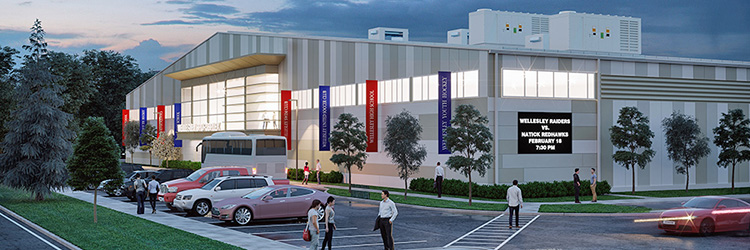 Project of the Month: Dacon teams up with ESG Associates  on the new 130,000 s/f Wellesley Sports Center