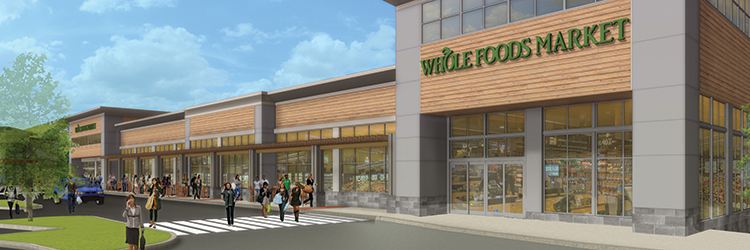 Project of the Month: CEA Group and The Stonewood Companies to open Whole Foods-anchored North Shore Crossing in spring 2019