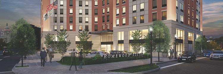 "First Bristol Corporation and Paolino Properties near completion on $30 million Homewood Suites by Hilton ""All-Suites"" Hotel"