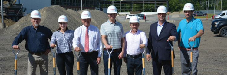 Dacon Corp. and New Mill Capital break ground on $7.5 million distribution facility at the former Ardagh glass manufacturing plant
